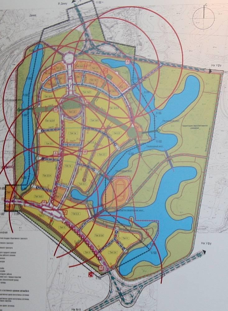 Схема организации транспортной