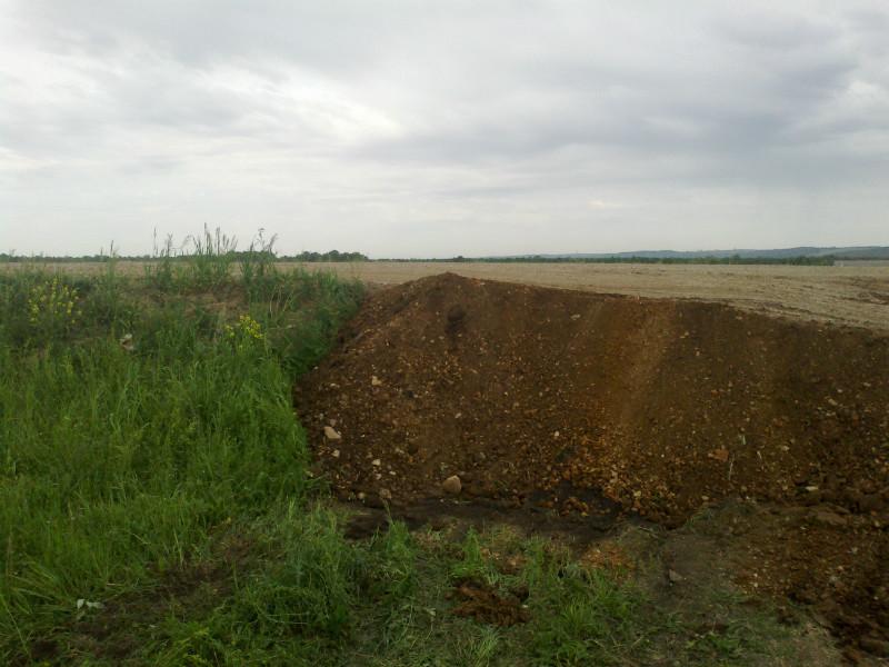 В поселке Ново-Архангельское (Иглино) строится дорога.